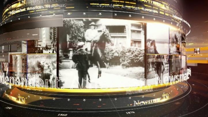 NewsmaxTV Historical Montage 30 sec TV ID
